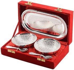 silver plating bowl set