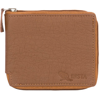 Insta Tan Chain Men's Wallet (Synthetic leather/Rexine)
