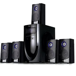 Impex Mesto 5.1 Bluetooth Home Audio Speaker   Black, 5.1 Channel