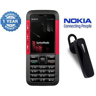 Nokia 5310 / Good Condition / Certified Pre Owned (1 Year Warranty) with Bluetooth Headset