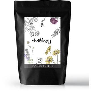 Chaiology Darjeeling Black Tea 50g 25 Cups 100 Natural Loose Leaf Tea