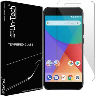 Un-Tech Tempered Glass Screen Protector for Redmi A1 with Installation Kit