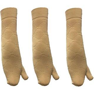 c0c201e1aa0 Buy White World women s skin colour Socks (pair of 3)