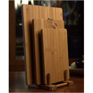 kudos Wooden Vegetable Chopping Board (pack of 1) 32X22