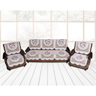 premium Furnishing  5 Seater Net Sofa