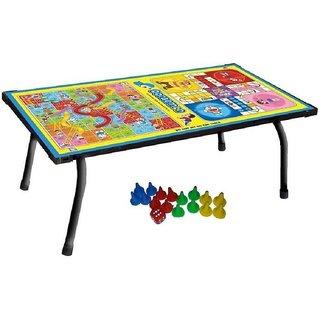 SHRIBOSSJI Engineered Wood Study Table (Finish Color - Multicolor)