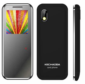Kechaoda K33 Slim Card Size Light Weight And Stylish Dual Sim Mobile With Camera & 6 Months Seller Warranty