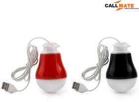 Callmate SZN01 Rubberized 2W Magnetic Usb LED Bulb (Set of 2)
