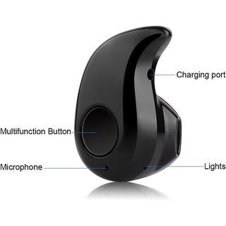 Bluetooth Headset Kaju  S530  Wireless with Mic Black Suitable for Android Smartphones Headphones   Earphones