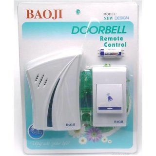 Baoji Wireless Doorbell 32 Melody Musical Sound Wireless Door Security Bell for Office Building Factory house shop smart
