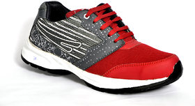 29k men's red  gray sport shoes