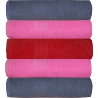 Sky Fall Cotton Bath Towel Set Of 5 Pic