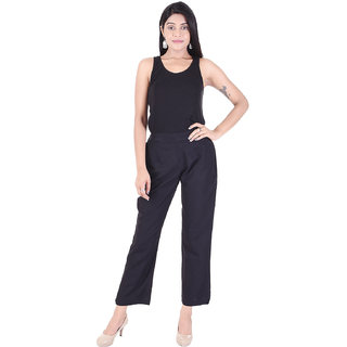 Desi Beats Fusion Regular fir Women Black Trouser