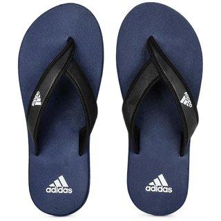 Adidas Men's Blue Flip Flops
