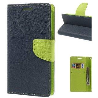 Redmi Note 4 MURCERY Flip Cover - Blue