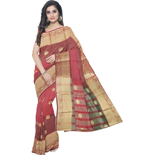 Rachna Multi Art Silk Printed Saree With Bluose(EX-BanarasiCollection-Multi)