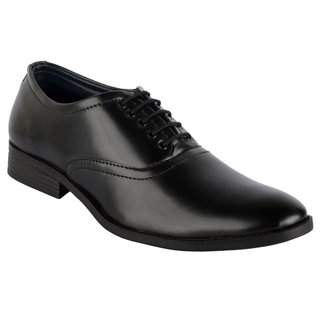 Goosebird Best Looks Men's Pure Leather Formal Shoes Office Lace-up Shoes