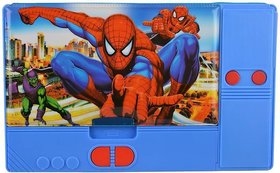 SHRIBOSSJI CARTOON CHARACTERS SPIDERMAN, AVENGERS, DORAMON, CAPTAIN AMERICA JUMBO PENCIL BOX FOR KIDS