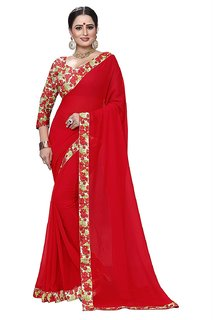chiffon printed sarees with Blouse Piece, sarees new collection, sarees for women latest design, sarees for women party