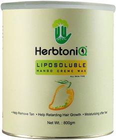 HerbtoniQ Liposoluble Mango Creme Wax 800 Gms