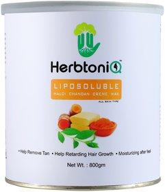 HerbtoniQ Liposoluble Haldi Chandan Creme Wax 800 Gms