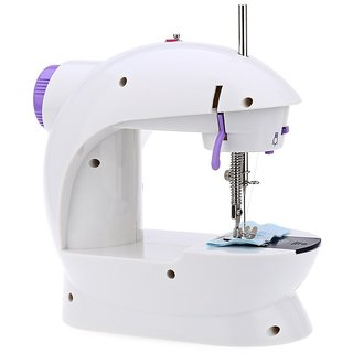 Sewing Machine Desktop Multi Functional Electric Sewing Machine Household Double Stitches Sewing Tools.