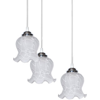 NOGAIYA Pandent Hanging Ceiling Lamp (three Lamp) Colorful & Decorative