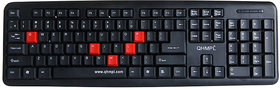 Quantum QHM-7403 Usb Keyboard (Black) - 139402337