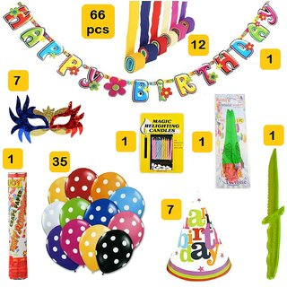 Factory 21 Complete Birthday Decoration Kit Set