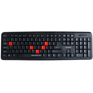 Quantum QHM-7403 Usb Keyboard (Black) - 139402337