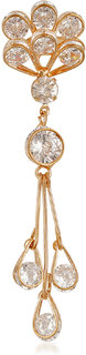 VK Jewels Dazzling Patten Brooch for Women made with Cubic Zirconia - VKBC1002G