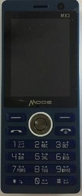 MODE MX3 ZION DUAL SIM MOBILE WITH DUAL CAMERA /32 MB RAM/32 MB ROM/ FM/LED TORCH