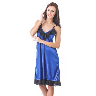 Fasense satin sexy nightwear sleepwear sleeveless short nighty for women  DP098 b6e34fe75