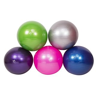 FITGURU EXERCISE GYM BALL 85 CM (GREEN) WITH FOOT PUMP.