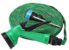 Car Washing Jet Spray Gun Water Hose Pressure Pipe 10 meter length
