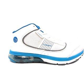 Campus Capture Wht/Sky Men Running Shoe