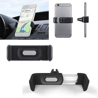 KSJ Air vent Mobile holder for Cars (Black)