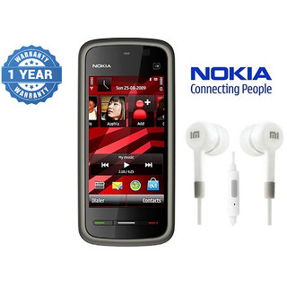 Nokia 5233/ Good Condition/ Certified Pre Owned (1 Year Warranty) with IMI Earphone
