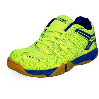 Feroc NOVAB GREEN Badminton Shoes