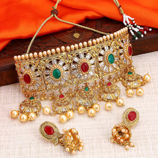 Sukkhi Bollywood Inspired Choker Necklace Set For Women Padmavati Collection