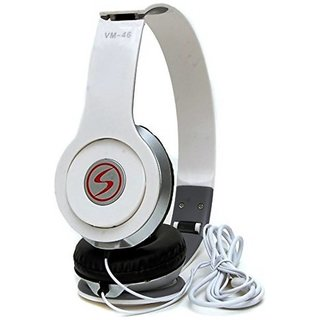 Signature White vm46 Solo Universal Headphone (white Over the Ear all smartphone support)