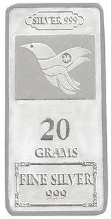 Maa Silver 20gm 999 Purity Silver Bar