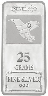 Maa Silver 25gm 999 Purity Silver Bar