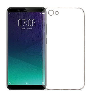 Vivo Y71 Transparent Ultra Protection Rubberised Crystal Clear Back Phone Cover For Vivo Y71