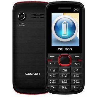 Celkon C604 1.3MP Camera 1700 mAh Marathon Battery