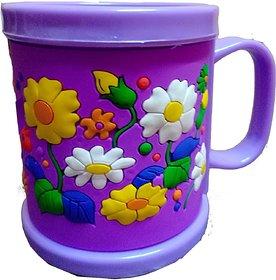 Fashion HUB Brand Mug for Kids Birthday  Cup for Kids Return Gift, Purple