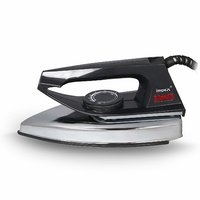 Impex Showy Dry Iron  (Silver, Black)