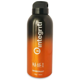 Integriti Rebel Deodorant Spray 150ml