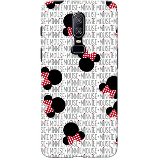 check out 8cd7c dec1b Buy OnePlus 6 Case, One Plus 6 Case, Mini Mouse Pattern Slim Fit ...