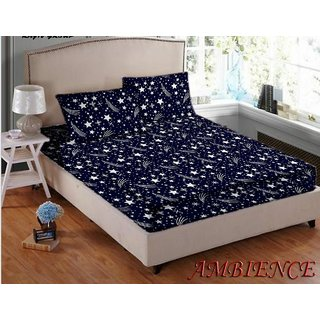 Teyja Collections Polly cotton double bedsheet with two pillow covers